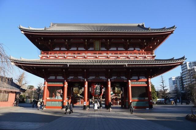 浅草の浅草寺を英語で説明