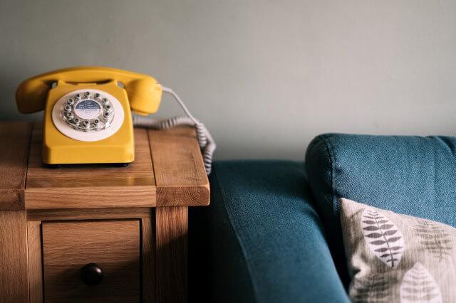 電話を英語で友達から受ける時の会話