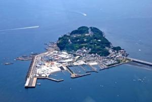 江ノ島を英語で説明|江ノ電で行く、湘南海岸の観光スポットを紹介