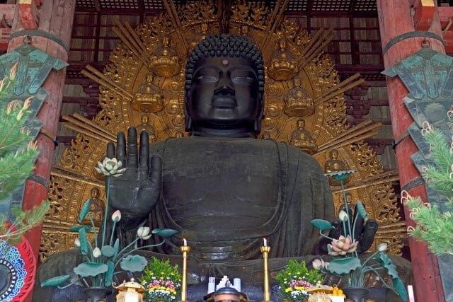 東大寺の大仏(奈良の大仏)を英語で説明