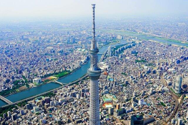 東京スカイツリーの歴史を英語で説明