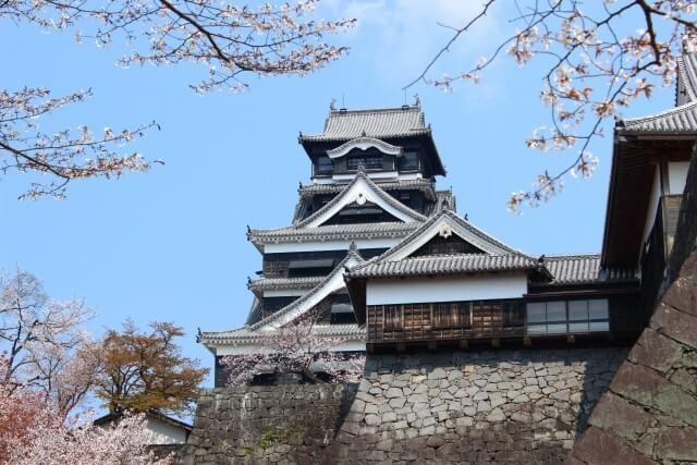 熊本城を英語で説明