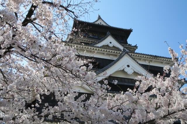 熊本城の歴史を英語で説明