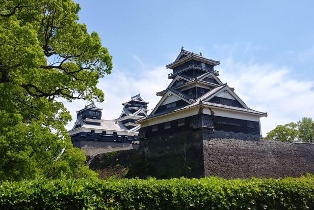熊本城の宇土櫓を英語で説明