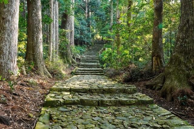 熊野古道の世界遺産登録を英語で説明