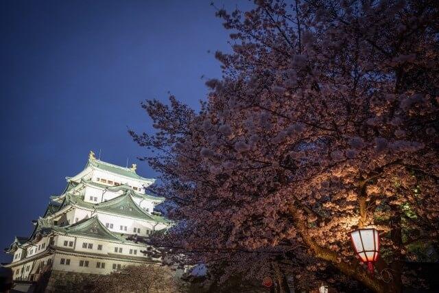 名古屋城の歴史を英語で説明
