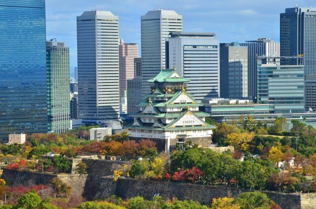 大阪城を英語で説明