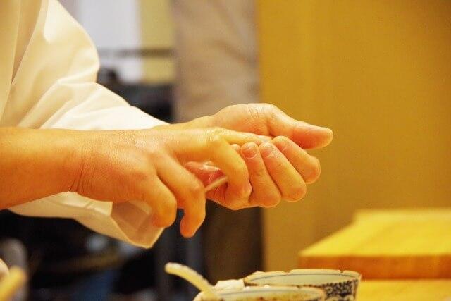 握り寿司の作り方を英語で説明