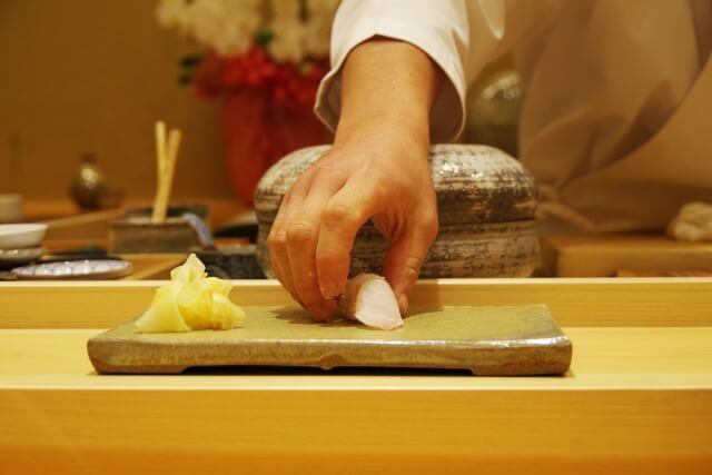 握り寿司の注文の仕方を英語で説明
