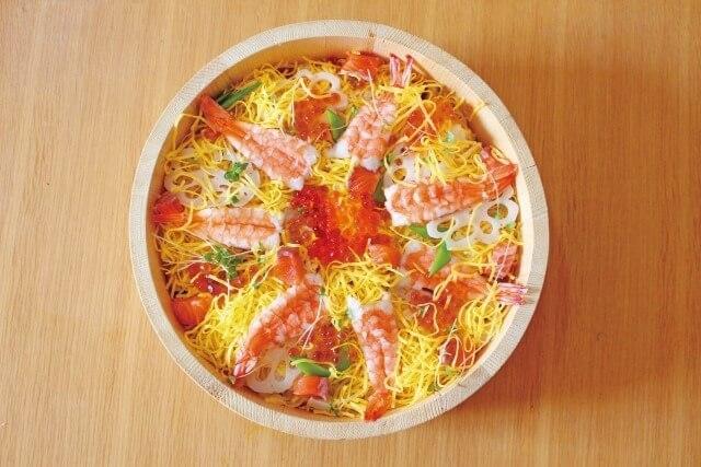 寿司の種類を英語で説明